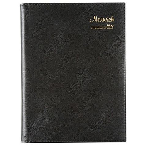 CUMBERLAND NORWICH A4 DTP 2020 DIARY BLACK