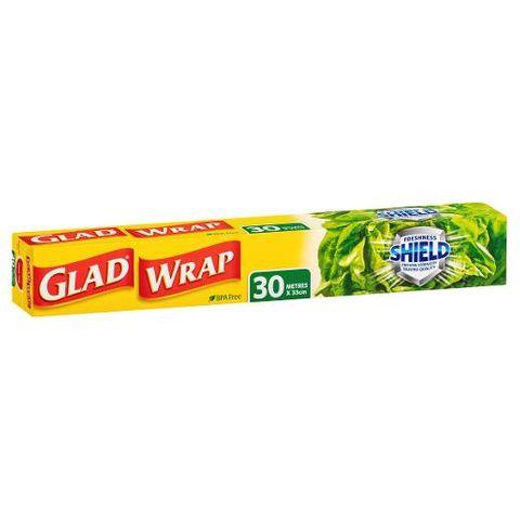 GLAD CLING WRAP 30M ROLL CS
