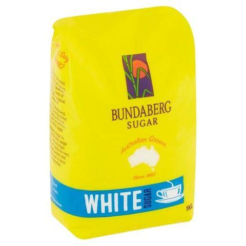 BUNDABERG WHITE SUGAR 1KG CS