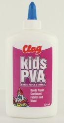 CLAG PVA GLUE KIDS 236ML