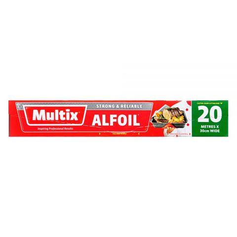 MULTIX ALUMINIUM FOIL 20M CS
