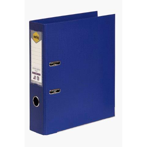 LEVER ARCH FILE PE A4 BLUE MARBIG-CQS15 - 9312311205755