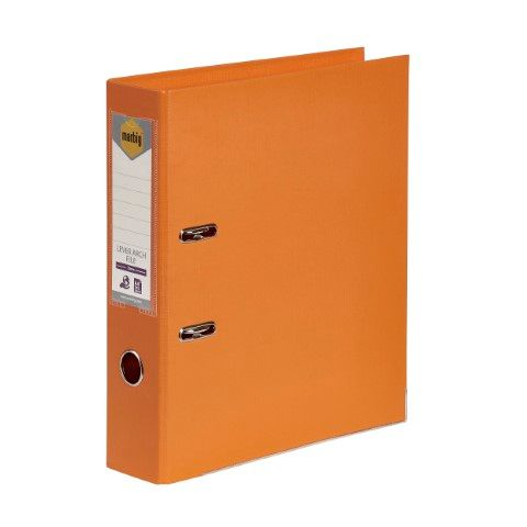LEVER ARCH FILE PE A4 ORANGE MARBIG-CQS15 - 9312311205922