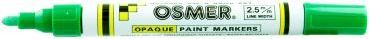 OSMER PAINT MARKER 2.5MM TIP GREEN