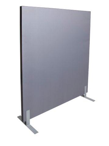 FREE STANDING SCREEN 1500MM W X 1500MM H - GREY