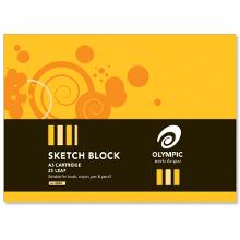 OLYMPIC SKETCH BLOCK 25L A3