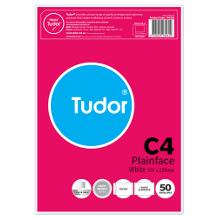 TUDOR C4 HI-WHITE PEEL & SEAL ENVELOPES PK50