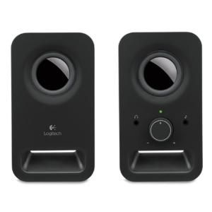 LOGITECH Z150 SPEAKERS - MIDNIGHT BLACK