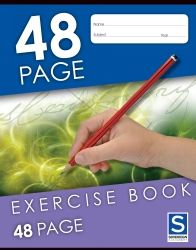 SOVEREIGN EXERCISE BOOK 48PG 9X7