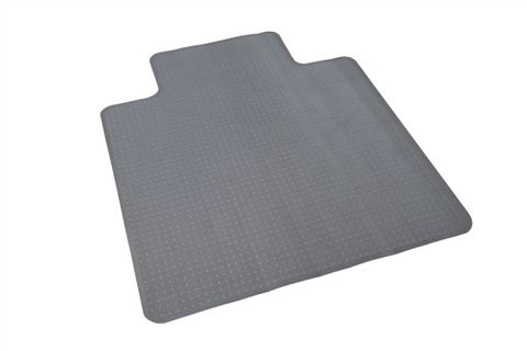 LARGE COMMERCIAL CHAIR MAT FOR CARPET SURFACE - DIMPLED 1350MM X 1140MM