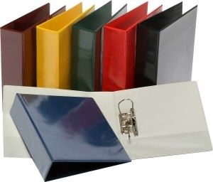 BANTEX INSERT LEVER ARCH FILE A4 RED