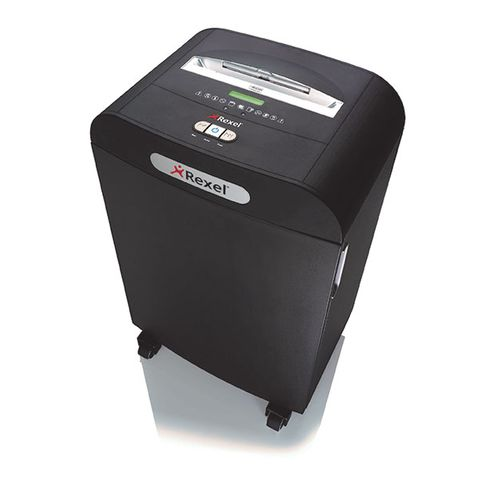 REXEL MERCURY MICRO RDSM750 MICRO CUT SHREDDER P6 SECURITY -