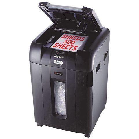 REXEL SHREDDER STACK&SHRED AUTO+500X CROSS CUT - cqs5 - 9310924038562
