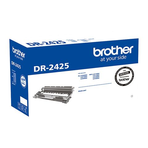 BROTHER DR2425 DRUM UNIT - 12000 PAGES