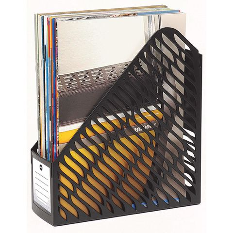 MARBIG MAGAZINE RACK PK2 BLACK - 9312311151335