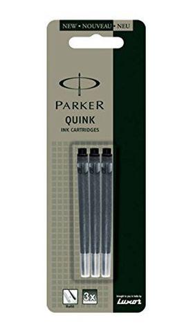 PARKER QUINK INK CARTRIDGE - BLACK  PK5