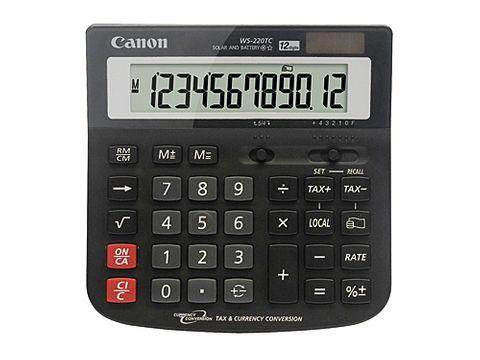 CANON WS220TC CALCULATOR - CQS6