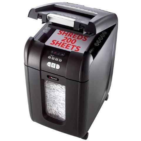 REXEL SHREDDER STACK&SHRED AUTO+200X-cqs5