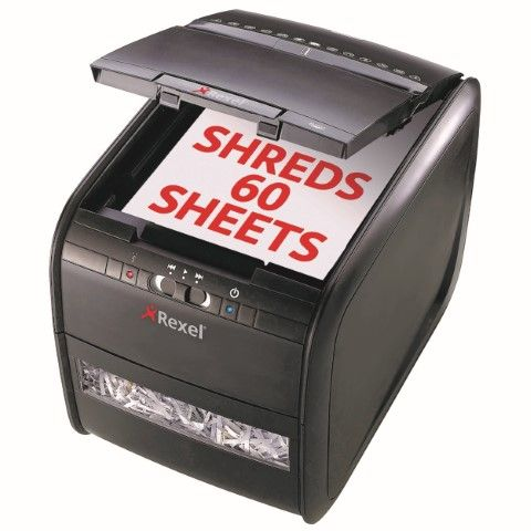 REXEL SHREDDER STACK&SHRED AUTO+60X-cqs5 - 9312311169514