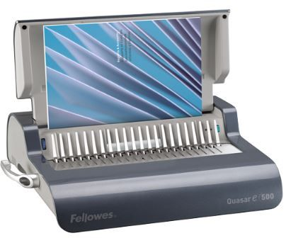 FELLOWES QUASAR 500 E  ELECTRIC BINDING MACHINE