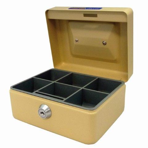 CASH BOX CLASSIC NO6 BEIGE ESSELTE