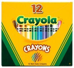 CRAYONS CRAYOLA REGULAR PK12