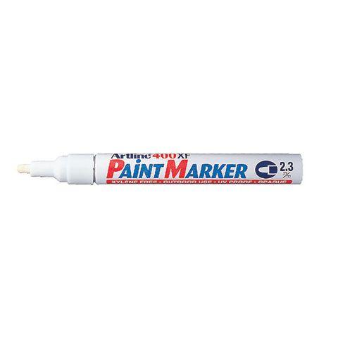 ARTLINE 400 PAINT MARKER WHITE  - 4974052820212