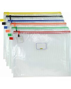 MESH CASE A3 WITH CARD HOLDER CLEAR
