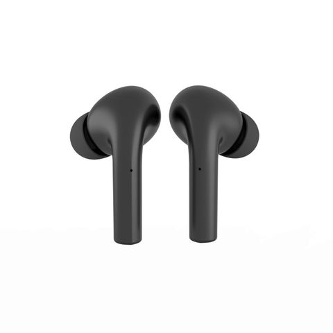 """""""MOKIPODS TRUE WIRELESS EARBUDS - BLACK ACHIEVE WIRELESS STEREO SOUND IN SEPARATE LEFT AND RIGHT CHANNELS AND HIFI SOUND.  WITH COMPLETE BLUETOOTH FUNCTION, IT CAN BE USED ALONE OR IN PAIRS AND SUPPORTS DUAL MICROPHONE CALLS."""""""