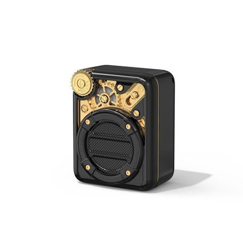 """""""BLACK - SMALL ENOUGH TO FIT INSIDE YOUR POCKET, AND LIGHT ENOUGH TO TRAVEL. 3 AUDIO MODES: BLUETOOTH/FM RADIO/ TF CARDS. ENJOY YOUR MUSIC ANY TIME, ANYWHERE. CHARGE: 2-2.5 HOURS. BLUETOOTH COMPLIANT: BLUETOOTH V5.0. PLAYBACK TIME UP TO 5 HOURS"""""""
