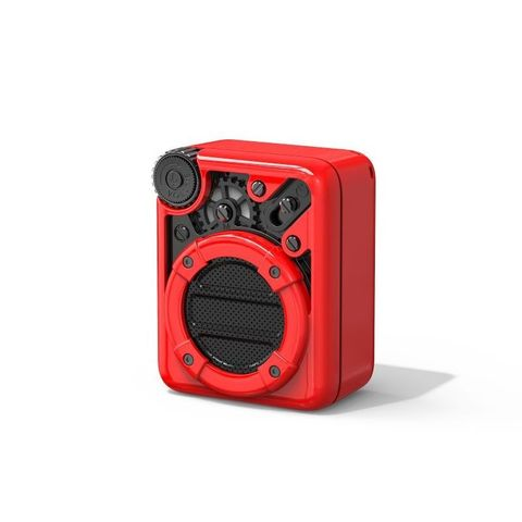 """""""WHITE - SMALL ENOUGH TO FIT INSIDE YOUR POCKET, AND LIGHT ENOUGH TO TRAVEL. 3 AUDIO MODES: BLUETOOTH/FM RADIO/ TF CARDS. ENJOY YOUR MUSIC ANY TIME, ANYWHERE. CHARGE: 2-2.5 HOURS. BLUETOOTH COMPLIANT: BLUETOOTH V5.0. PLAYBACK TIME UP TO 5 HOURS"""""""