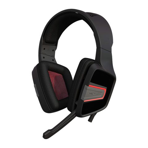 """""""PATRIOT VIPER V330 STEREO HEADSET PROVIDES SUPERIOR SOUND QUALITY WITH A BUILT-IN, FOLDABLE MICROPHONE AND 3.5MM JACK INTERFACE."""""""