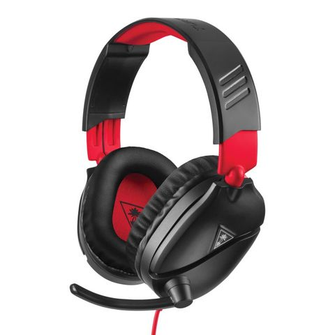 """""""TURTLE BEACH RECON 70N GAMING HEADSET NINTENDO FEATURES A LIGHTWEIGHT AND COMFORTABLE DESIGN, HIGH-QUALITY 40MM OVER-EAR SPEAKERS, AND A HIGH-SENSITIVITY FLIP-UP MIC. BUILT FOR NINTENDO SWITCH."""""""