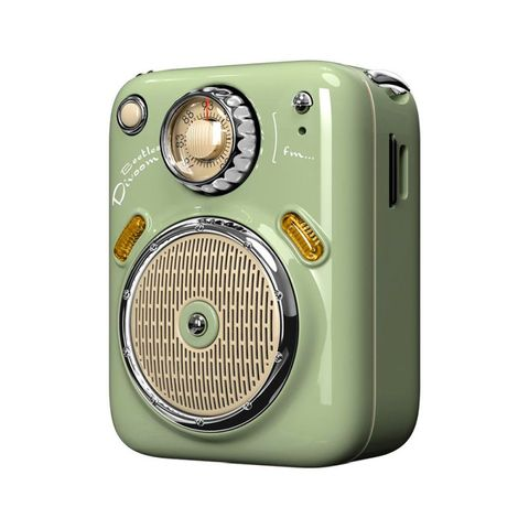 """""""GREEN - ENJOY YOUR MUSIC ANY TIME, ANYWHERE. IT IS SMALL ENOUGH TO FIT INSIDE YOUR POCKET, AND IT IS LIGHT ENOUGH TO TRAVEL. ELEGANT DESIGN AND PACKING MAKES IT A SPECIAL GIFT FOR YOU. 3 AUDIO MODES: BLUETOOTH/FM RADIO/ TF CARDS. UP TO FIVE HOURS PLAYTIM"""