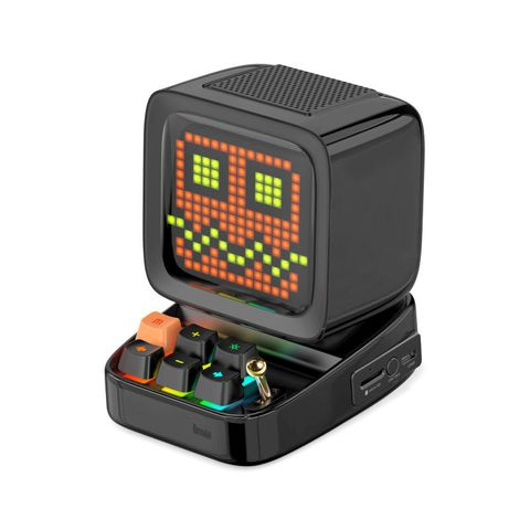"""""""BLACK - DISCOVER THE PIXEL ART MAGIC WITH DIVOOM DITOO SPEAKER. A MOBILE APP PROVIDES NUMEROUS USEFUL DAILY, FUNCTIONS AND PIXEL ART CREATION TOOLS AS WELL AS THE ACCESS TO THE WORLDS LARGEST PIXEL ART COMMUNITY. SPARK YOUR IMAGINATION WITH THE DITOO."""""""