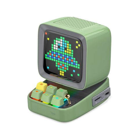 """""""GREEN - DISCOVER THE PIXEL ART MAGIC WITH DIVOOM DITOO SPEAKER. A MOBILE APP PROVIDES NUMEROUS USEFUL DAILY, FUNCTIONS AND PIXEL ART CREATION TOOLS AS WELL AS THE ACCESS TO THE WORLDS LARGEST PIXEL ART COMMUNITY. SPARK YOUR IMAGINATION WITH THE DITOO."""""""