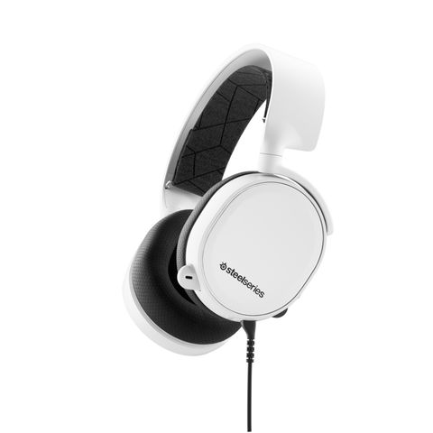 """""""WHITE - DESIGNED FOR EVERYWHERE YOU GAME, WITH REMARKABLE SOUND, COMFORT AND STYLE ON ALL GAMING PLATFORMS, INCLUDING PLAYSTATION, XBOX ONE, NINTENDO SWITCH, VR AND MOBILE"""""""