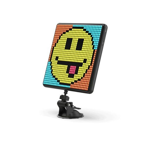 """""""PIXOO-MAX FEATURES 32X32 PIXEL SIZE, ALARM AND SLEEP AID FUNCTIONS WITH ITS SPECIAL CALIBRATED LIGHTINGS. YOU CAN MOUNT YOUR PIXOO MAX AT A WINDOW OR WALL. LIGHT UP THE ROOM AND ENJOY THE FINEST VISUAL EXPERIENCE"""""""