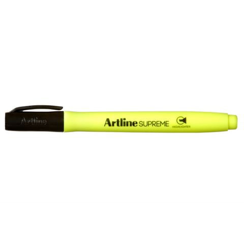 ARTLINE SUPREME HIGHLIGHTERS YELLOW - 4974052866111