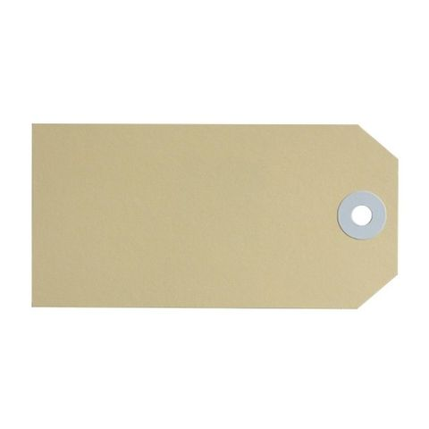 SHIPPING TAGS SIZE 4  54X108MM MANILLA  BX1000