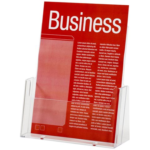 BROCHURE HOLDER A5 FREE STANDING