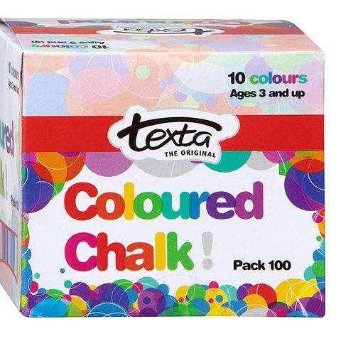 TEXTA CHALK COLOURED BOX 100