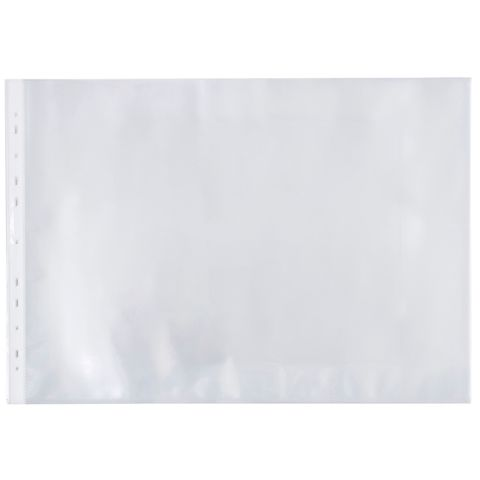 MARBIG SHEET PROTECTOR DELUXE LANDSCAPE A3 100 PACK - 9312311158440