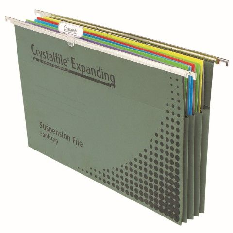 CRYSTALFILE SUSPENSION FILES EXPANDING FC -CQS9 - 9312311181974