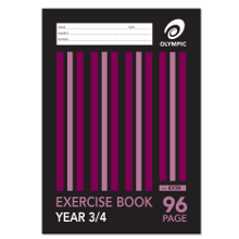 OLYMPIC EXERCISE BOOK A4 96P YR3/4 EY39