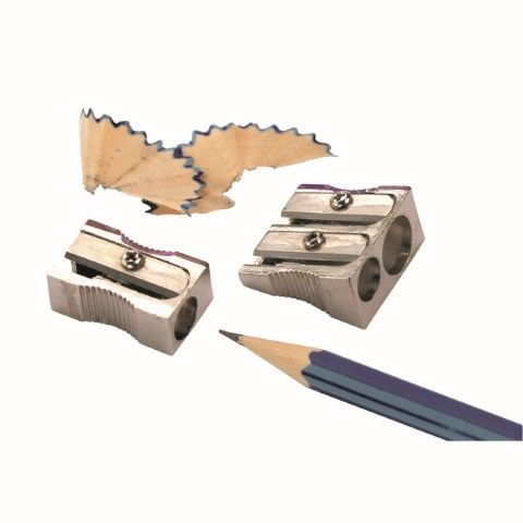 MARBIG PENCIL SHARPENER METAL 2HOLE-cqs23