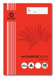 EXERCISE BOOK TUDOR A4 48 PAGE 25MM RULED