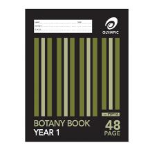 OLYMPIC BOTANY BOOK 225x175 48P YR1 T2Y14