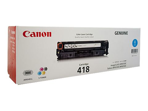 CANON CART418 CYAN TONER - 2900 PAGES -CQS5