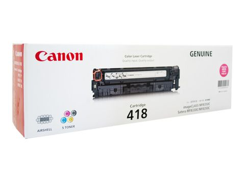 CANON CART418 MAGENTA TONER - 2900 PAGES -CQS5